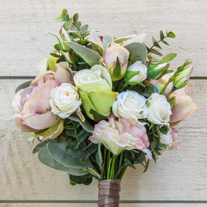 The Emma Artificial Flower Bridal Bouquet - flowers
