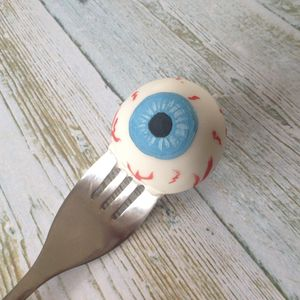 Halloween Eyeball Cake Pops - trick or treat bags