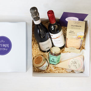 Boozy Mum's Back Gift Box - gifts for her