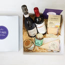 Boozy Mum's Back Gift Box including Rioja and Prosecco