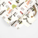 London Gift Wrap And Gift Tag Pack