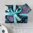 gift tag for the Midnight Floral wrapping paper if you choose the wrapping service