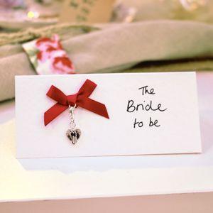 Personalised Heart Keepsake Love Place Setting - charm jewellery