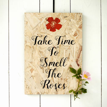 Inspiring Quotes Personalised Prints On Chipboard