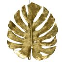 Decorative Gold Monstera Wall Hanging