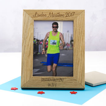 Personalised Sporting Event Photo Frame