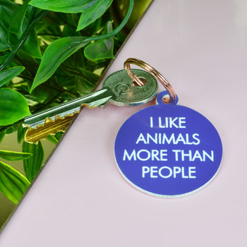 Animal Lover Key Tag
