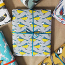 Blue Tit Bird Wrapping Paper