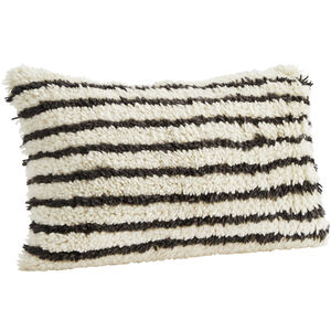 Pure Wool Stipe Cushion
