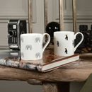 Elephant And Penguin Mugs Set