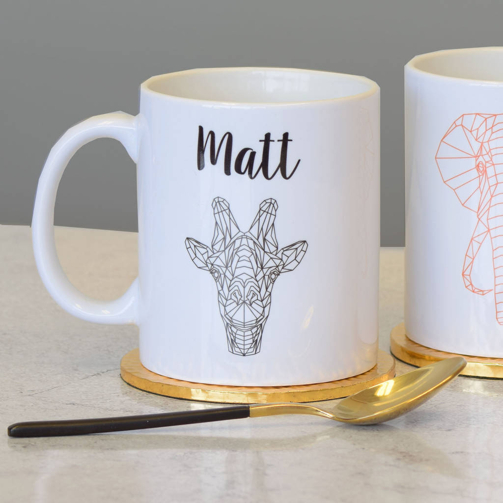 Animal Mugs Set