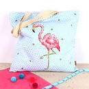 Tropical Flamingo Extra Large Shopper