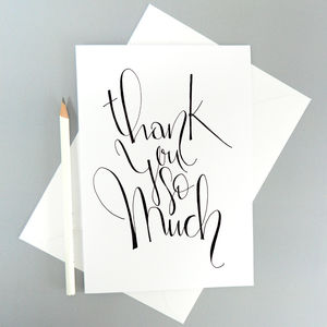 Thank You Card - thank you cards