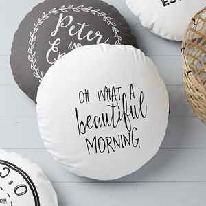 'Oh What A Beautiful Morning' Cushion