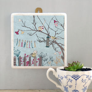 Personalised Birthday Washing Line Wall Art
