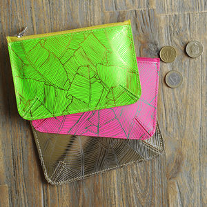 Undercover Leather Palm Purse