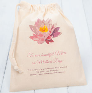 Personalised Mother's Day Gift Bags - gift wrap