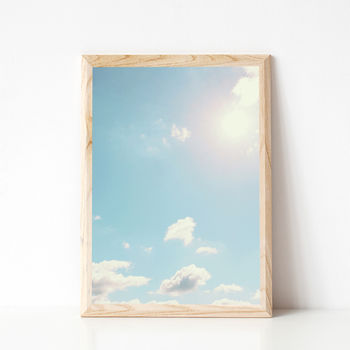 Daydreaming Photographic Sky Print