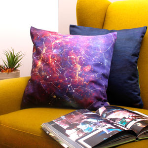 Personalised Constellation, Romantic Gift Cushion - living room