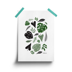 Plant Life Print - drawings & illustrations