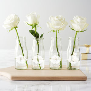 Personalised 'Baby' Clouds Bottle Vases - dining room