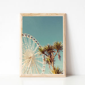 The Height Of Summer Palm Tree Print