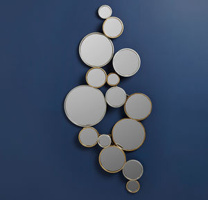 Circles Wall Mirror - dining room