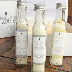 Personalised Dead Sea Salt Collection - bathroom