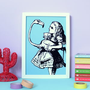 Alice In Wonderland Print - film & tv