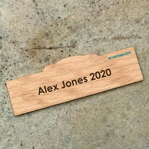 Children's Personalised Wooden Ruler