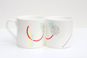 Bone China Mug Air