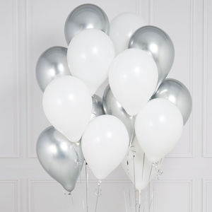 Pack Of 14 Innocence Wedding Party Balloons - balloons