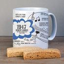 Personalised 1947 Mug For 70th Birthday