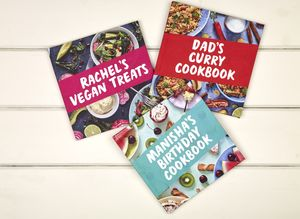Your Personalised Cookbook - keepsake books