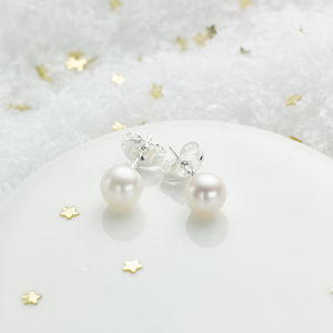 My First Pearl Earrings - earrings