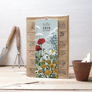 2018 Calendar With Seeds - 2018 calendars & planners