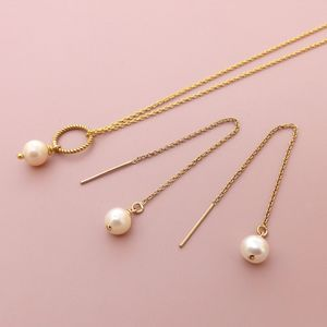 Freshwater Pearl Thread Jewellery Set