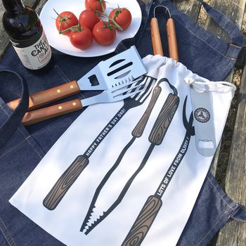 Personalised Barbecue Tool Gift Set