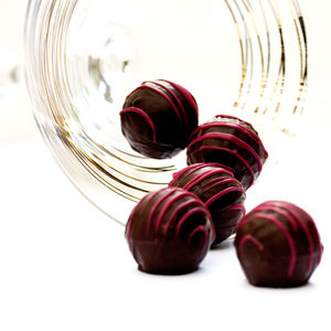 Raspberry Gin Chocolate Truffle Gift Box - chocolates & confectionery