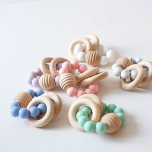 Beehive Wooden Beaded Teething Toy - baby toys
