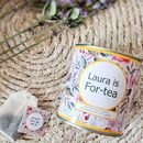 'Forty' Personalised Tea 40th Birthday Gift Set