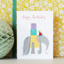 Happy Birthday Anteater Mini Card