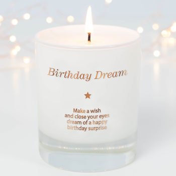 Make A Wish Birthday Dream Candle