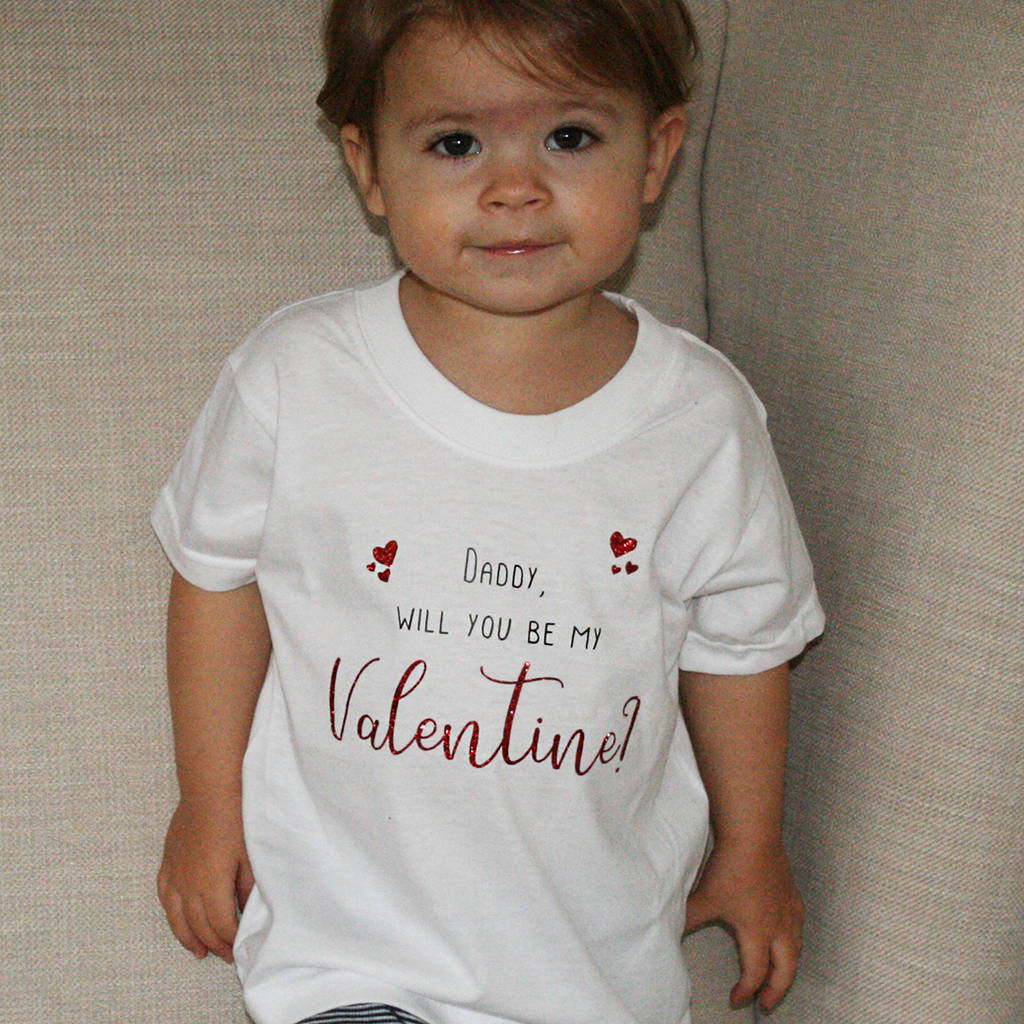 7a20bd2dd4 will you be my valentine t shirt by juliet reeves designs ...