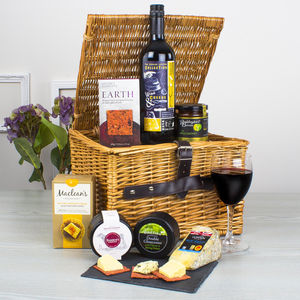 Wine And Cheese Lover's Hamper - hampers