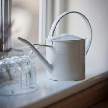Chalk White Mini Watering Can