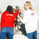Naughty Or Nice Unisex Christmas Jumper Set Sweatshirts
