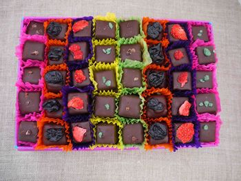 Box Of Handmade Dark Chocolates, Boxes Of 12, 24 Or 40