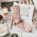 'Put Your Feet Up' Luxury Socks Letterbox Gift