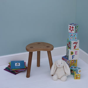 Child's Oak Stool